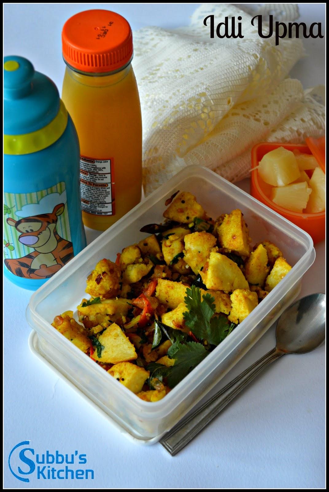 Masala Idli | Idli Upma | Kids Lunchbox Recipes