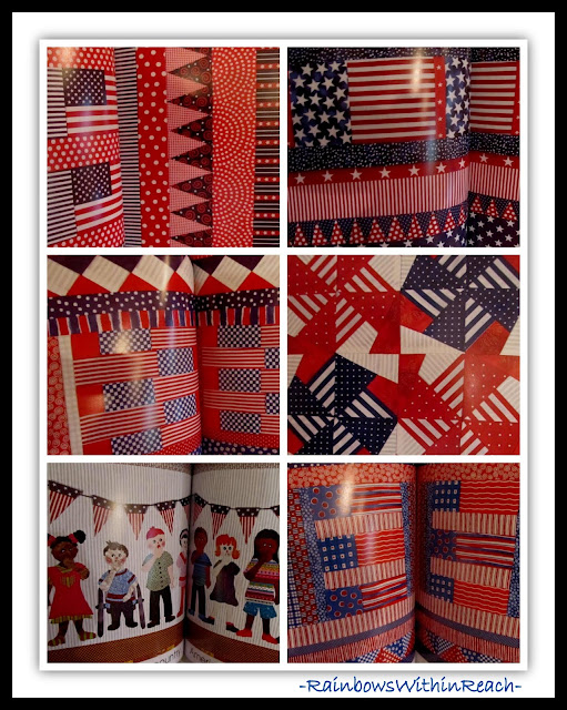 "Quilted Illustrations in ""Red, White and Blue"" by Debbie Clement"