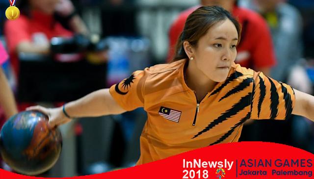 Malaysia raih medali emas trio putri - Asian Games Indonesia