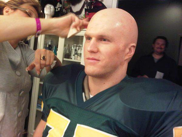 green bay haircut s wapl shave it ain t so clay shaves his 5466