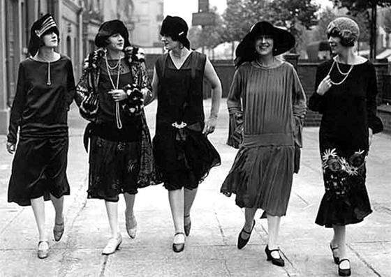 Fatos e fotos da moda de 1910 a 1920 | Blog da Mari Calegari