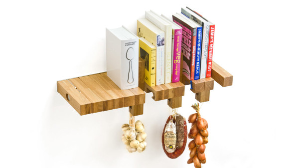 Repisa de madera multi usos