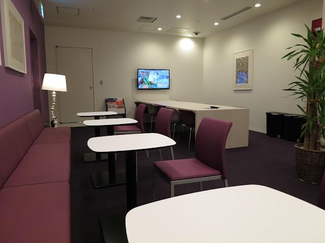 First Cabin Hakata Hotel lobby. Tokyo Consult. TokyoConsult.