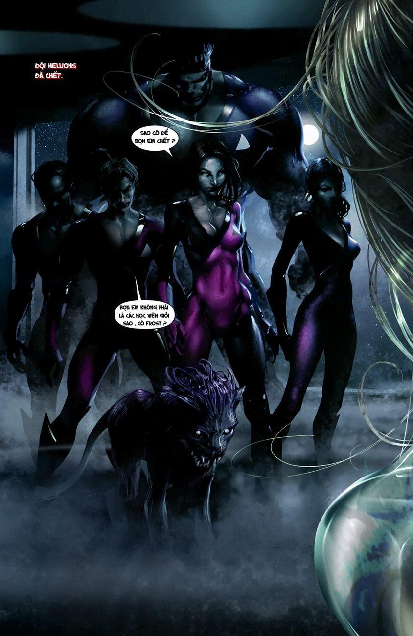 X-Men Necrosha chap 1 trang 16