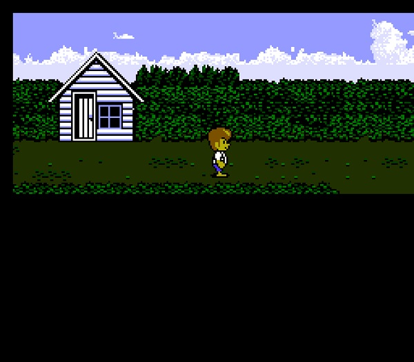 Tom Sawyer explores the town in the start of the game.