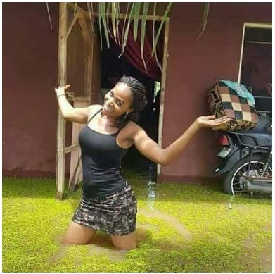 This Slay Queen Is Trending Online… See What She Did (Photos)