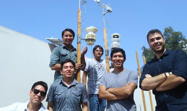 Estudiantes de la UNI crean sensores para medir contaminación desde celular