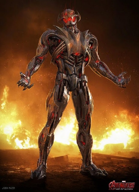 Diseños alternativos de Ultron para Avengers 2