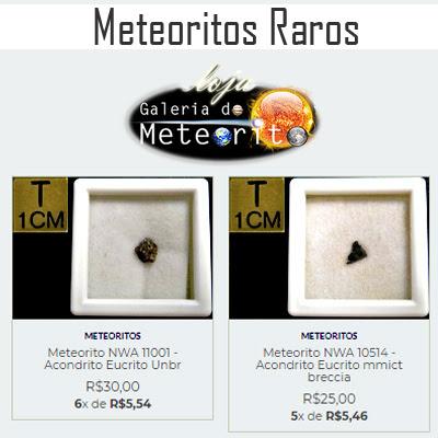 venda de meteoritos no Brasil