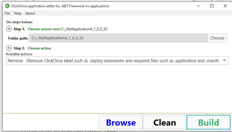C# Разработка: Часть 3  Clickonce приложение  Альтератива