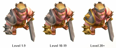 Tentang Hero Barbarian King dan Biaya Upgrade ( Dark Elixir )