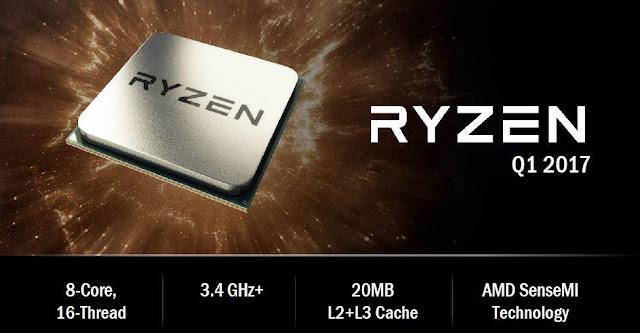 Harga Processor AMD Ryzen dan Spesifikasi Lengkap