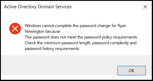 how to change windows 7 password policy