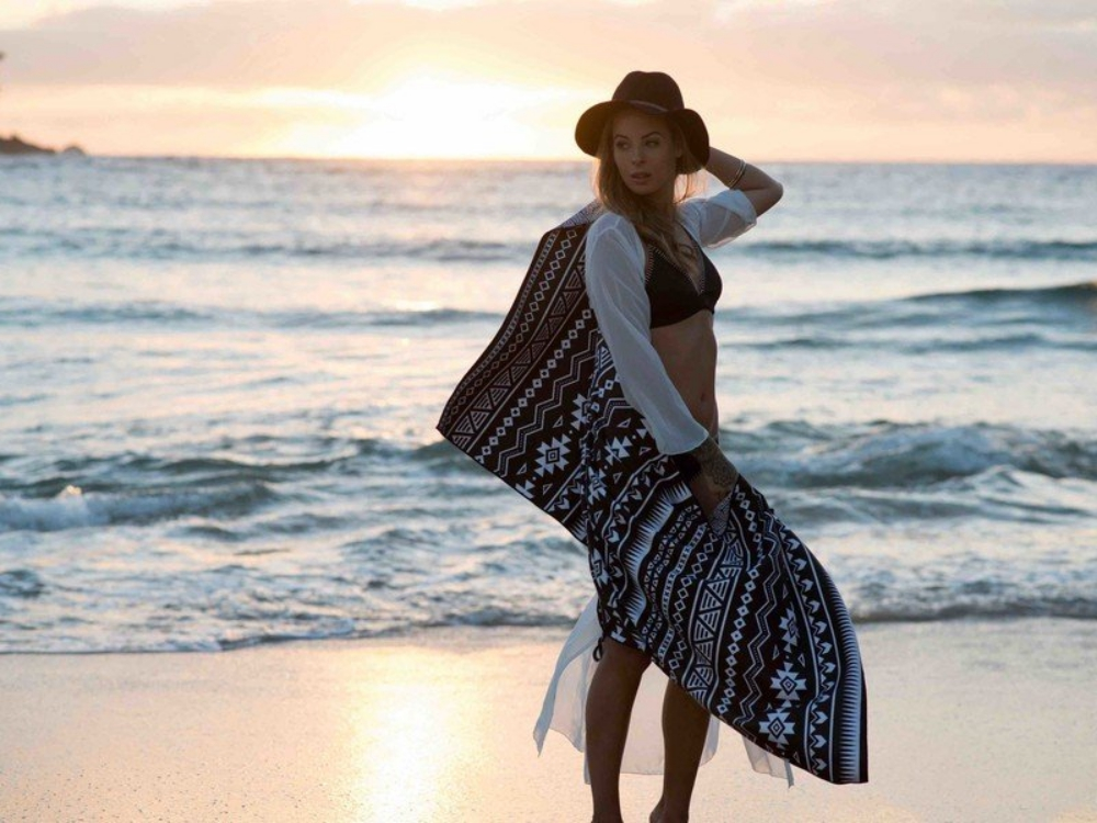 So cool: Diese Strandhandtücher trocknen schnell und sind sandabweisend!