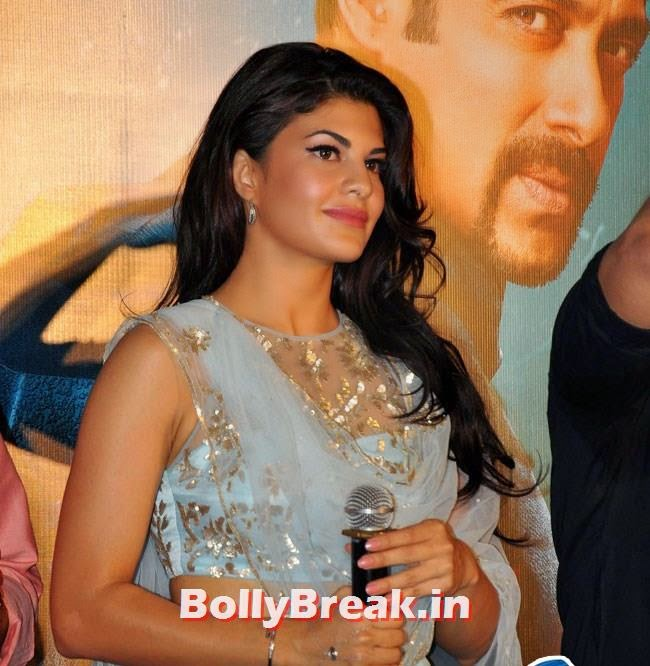 Jacqueline Fernandez, Salman, Jacqueline sizzles at Kick Film Trailer Launch