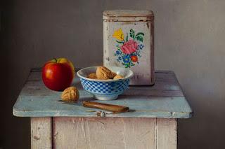 cuadros-frutas-rojas-pintura-realista