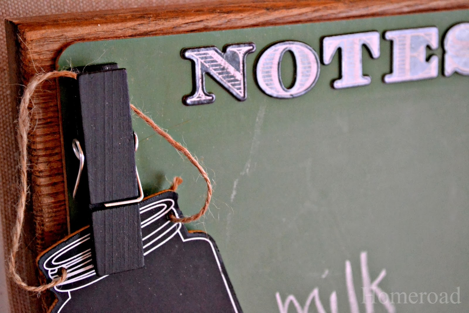 chalkboard message center www.homeroad.net