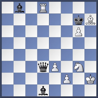 Proceso de composición de problemas de ajedrez, diagrama 1