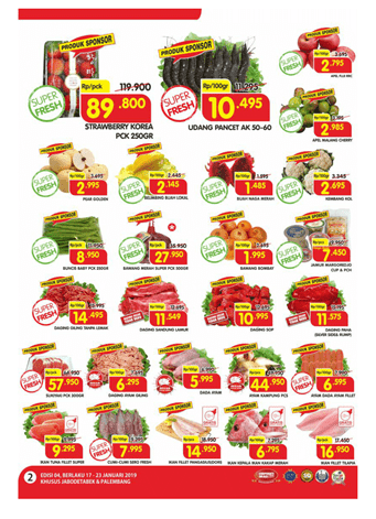 Promo Superindo WeekDay 17-23 Januari 2019