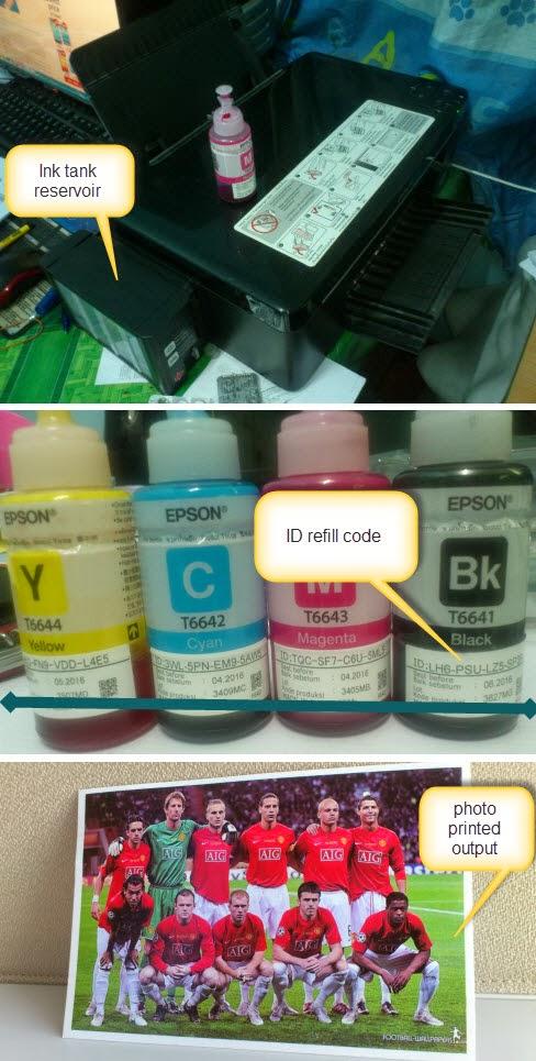 EPSON CISS L200 Photo printing