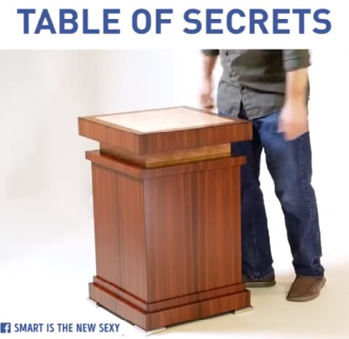 table of secrets