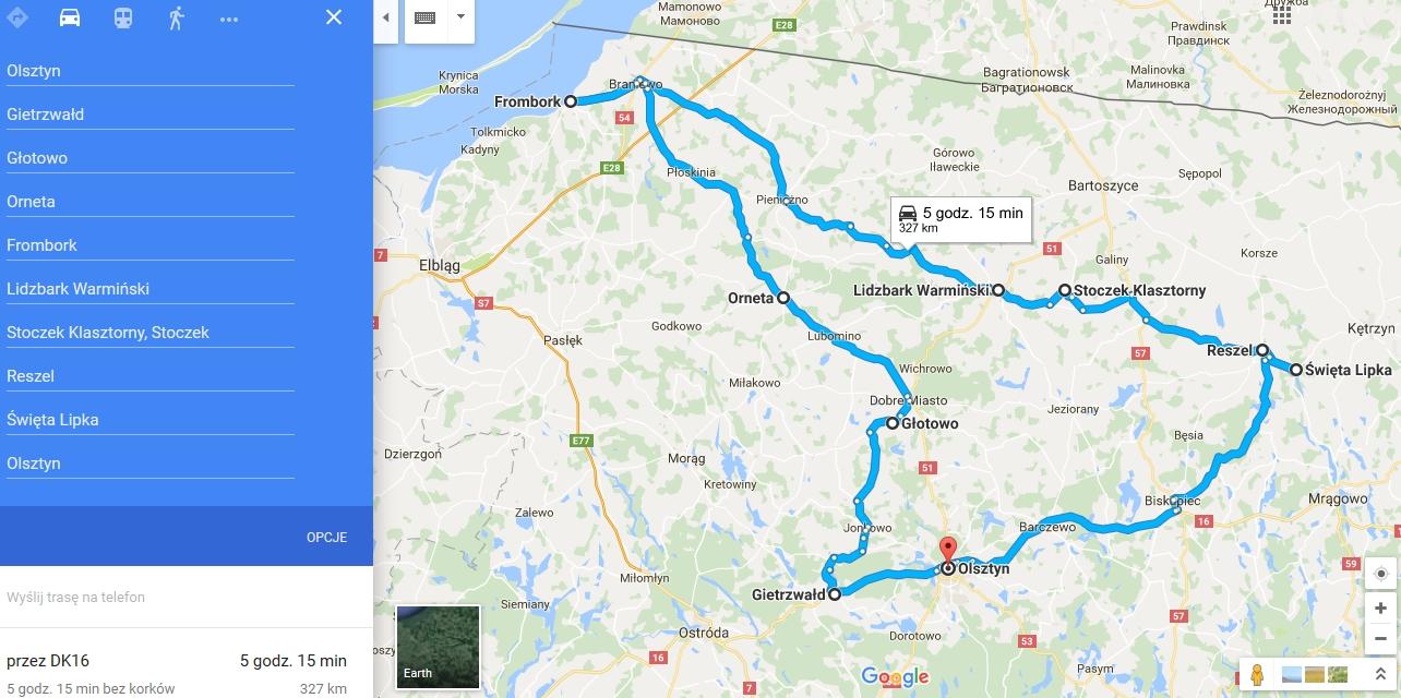 Tour de Warmia, czyli Warmia na sierpniowy weekend