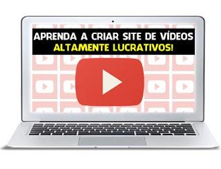 Como Criar Um Site De Vídeo | Site De Vídeos em Piloto Automático