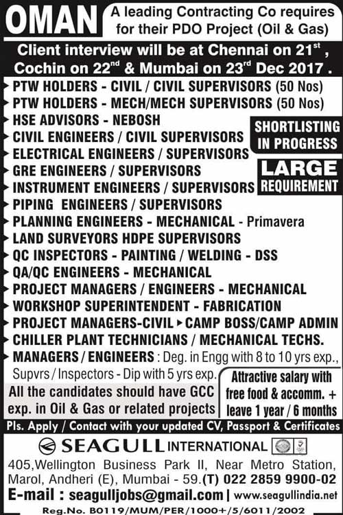Seeh Al Sarya Engineering LLC (SAS) Oman Career Jobs