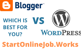 Blogger Vs WordPress Which Blogging Platform to Choose?