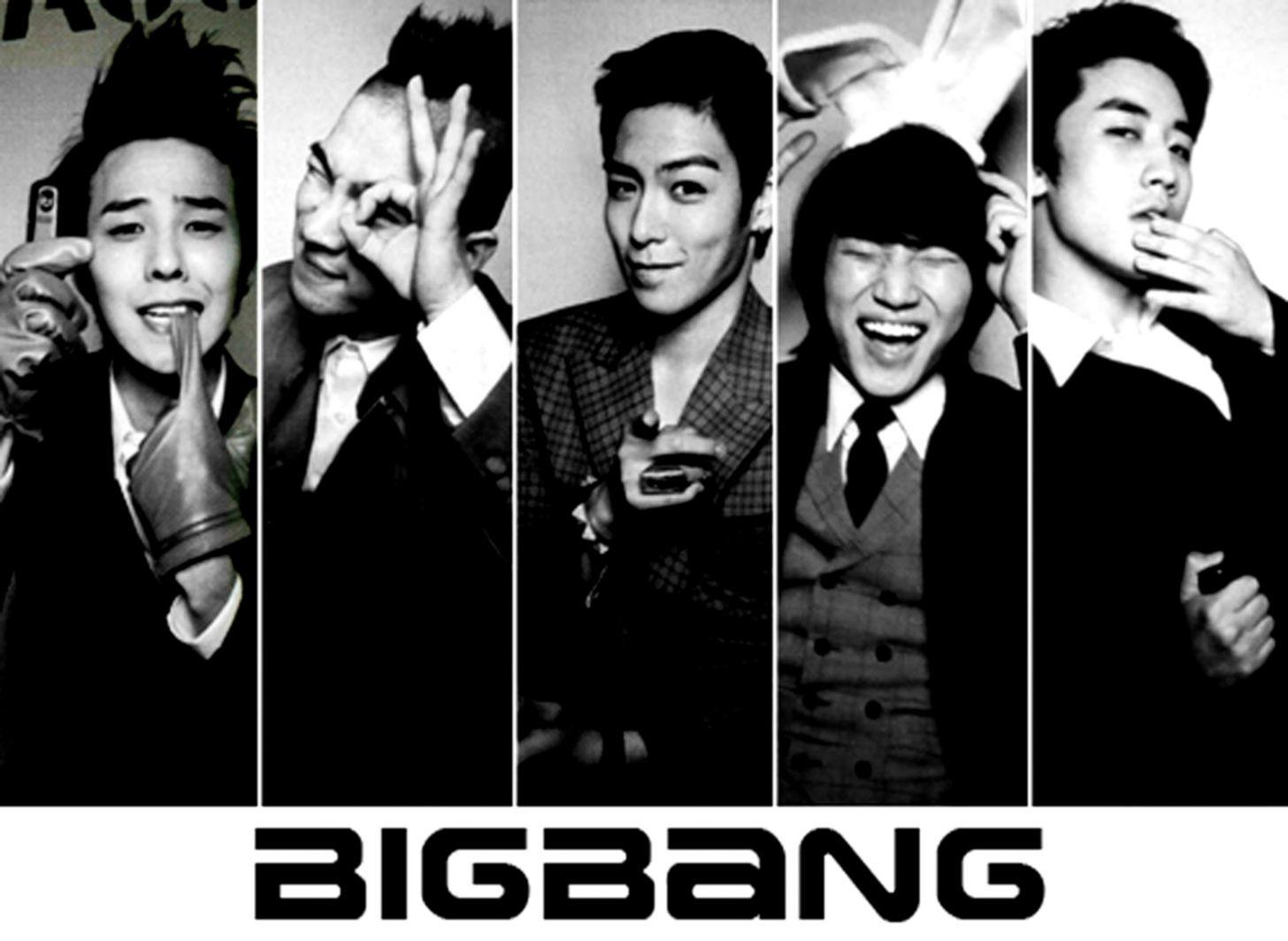 Bigbang K Pop Hd Wallpaper Wallpapers Collection