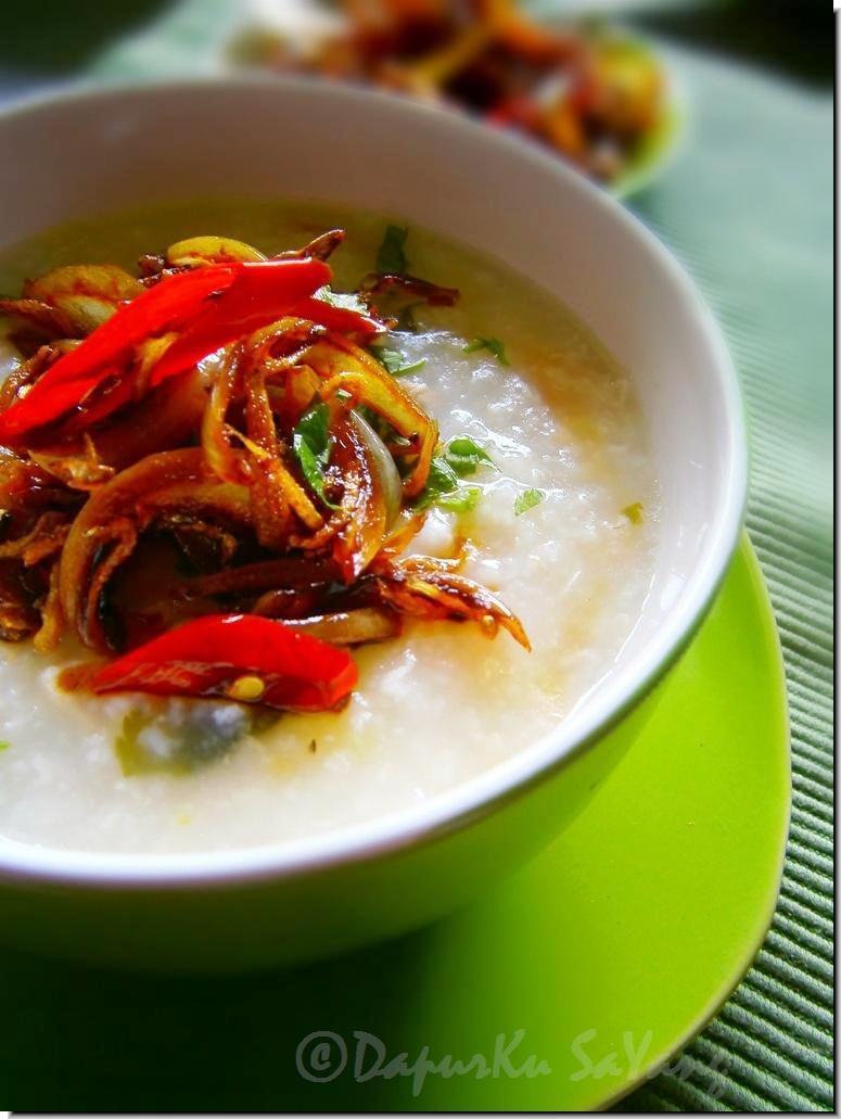 Syazwana Jamal: Tips masak bubur nasi dengan cepat.