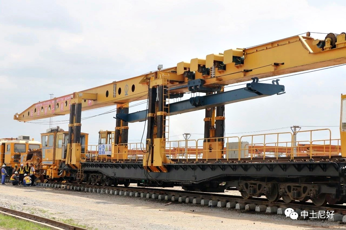 The Lagos Ibadan Railway project has been on-going for close to a year now