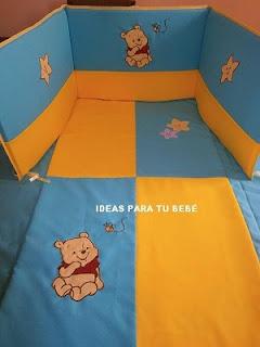 Juego de cuna winnie pooh bebé