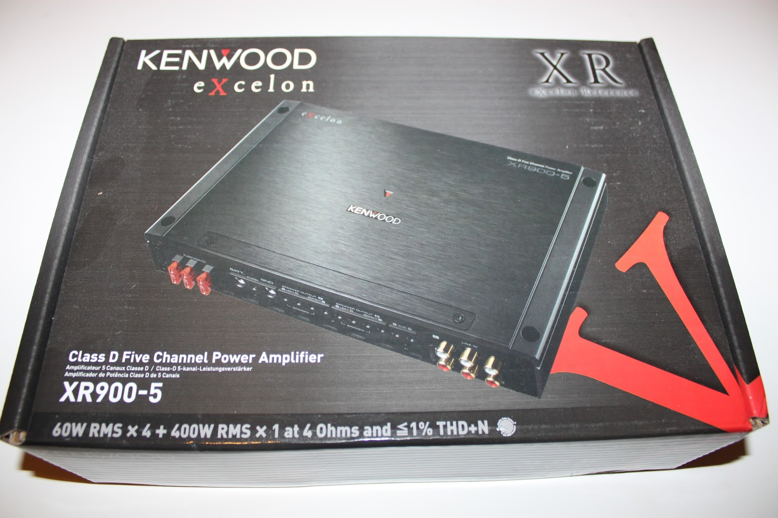 Stereowise Plus: Kenwood Excelon XR900-5 Cl D 5 channel ... on
