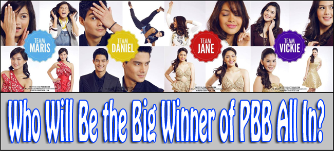 Who Will Be the Big Winner on the BIG NIGHT of PBB All In August 24, 2014?