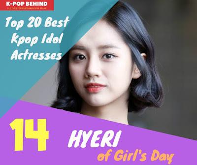 Hyeri of Girl's Day