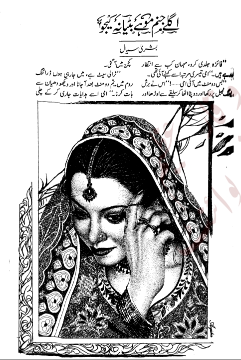 Free online reading Aglay janam mohy bitiya na kijo novel by Bushra Siyal