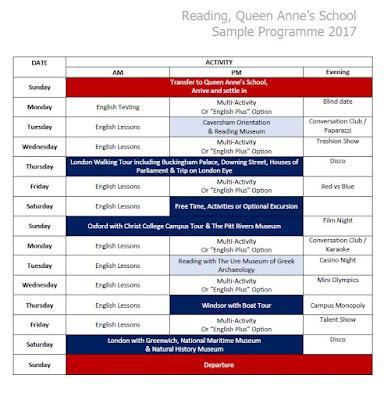 tabara engleza marea britanie vara 2017