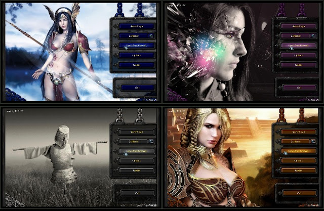Warcraft 3 Modded Themes