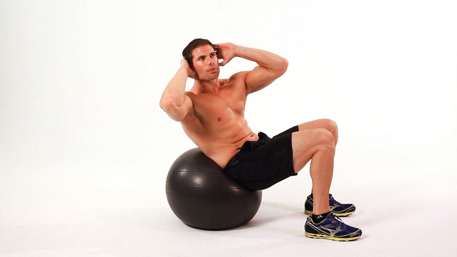Swiss Ball Crunch | Health and Fitness Bible