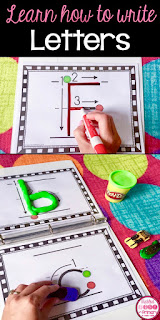 Help students learn how to write their alphabet letters with the proper handwriting skills as well as learning how to write numbers correctly.
