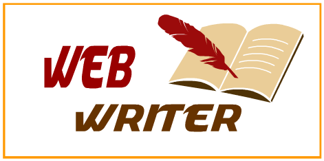 Web writer blogging blog blogger