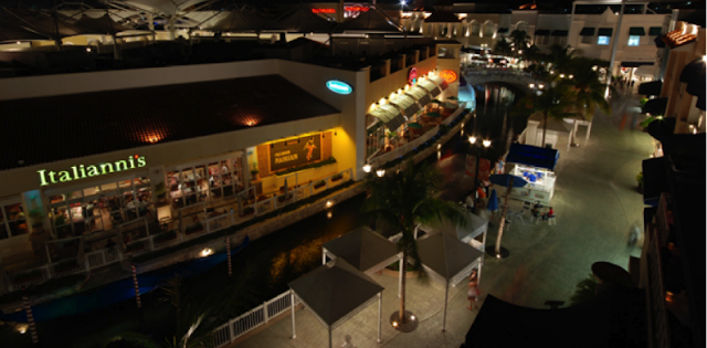 Restaurantes no Shopping La Isla em Cancún