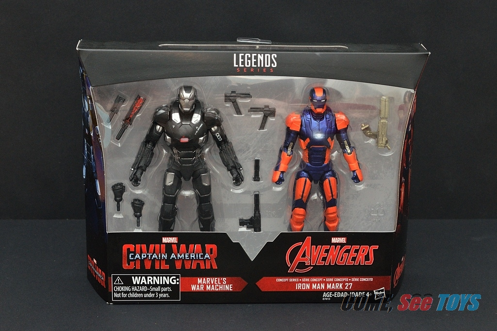 "Come, See Toys: Marvel Legends Series 6"" War Machine ..."