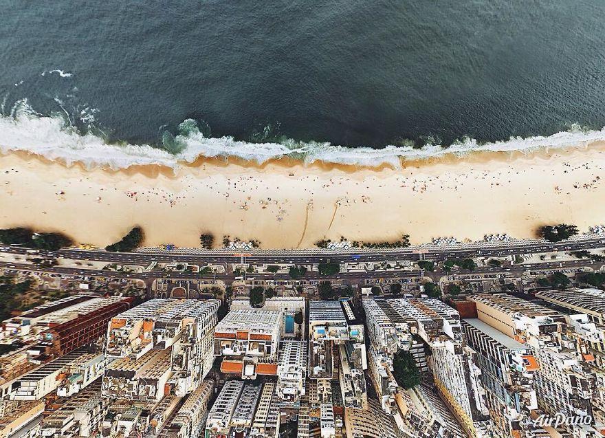 Beautiful Panoramic Pictures Of 20 Famous Cities - Rio De Janeiro, Brazil
