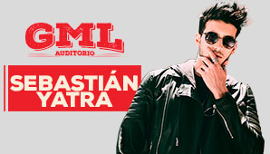Concierto de Sebastián Yatra en GML Auditorio Bogota