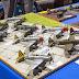 Comparatif Republic P-47D Bubbletop au 1/72 : montage des boîtes