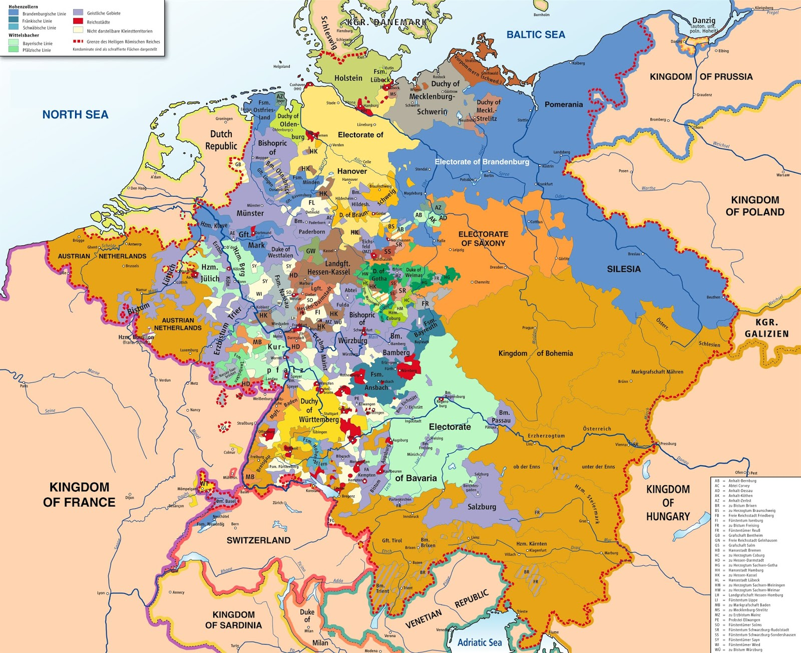 territories making up the holy roman empire in 1789 wikipedia commons