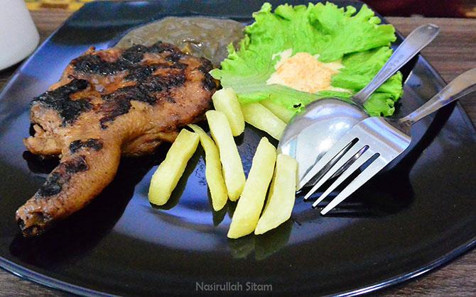 Spesial menu Grilled Chicken Chop