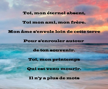 Poème Triste Damour Perdu Messages Et Textes Damour